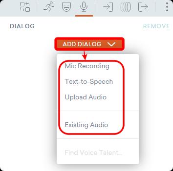 ADD Dialog ボタン
