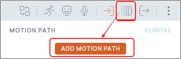 add Motion Path ボタン