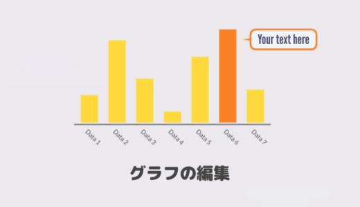 VYOND「グラフの編集」方法