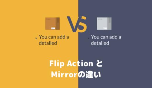 VYOND「Flip Action」と「Mirror」の違い
