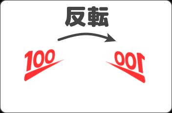 反転の解説