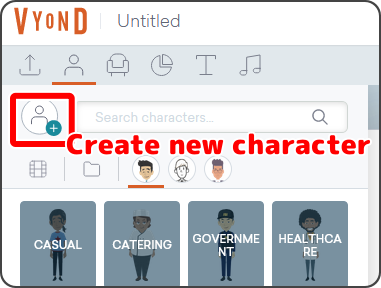 Create new character