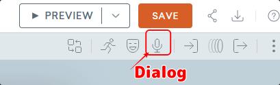 Dialogアイコン